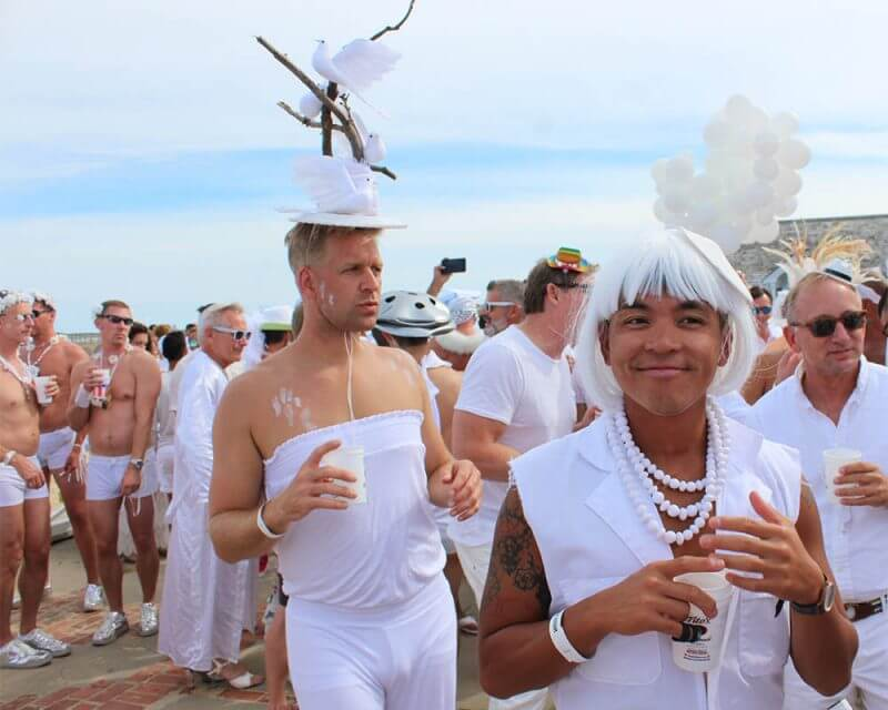 Labor Day Weekend's 32nd Annual White Party
